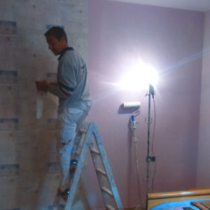Jose pintando